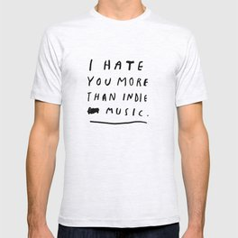INDIE MUSIC T-shirt