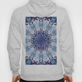 Winter abstract mandala Hoody
