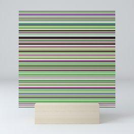 Old Skool Stripes - Spring - Horizontal Mini Art Print