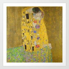 "Gustav Klimt ""The Kiss"" Art Print"
