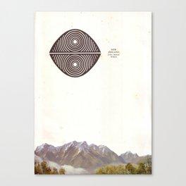 Long Bright World Canvas Print
