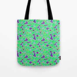 Bright Lily Floral Tropical Pattern Tote Bag