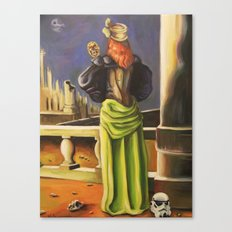 Wook in the Mirror Canvas Print