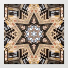 Architectural Star of David Canvas Print