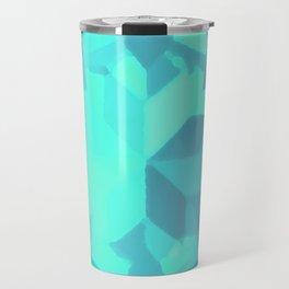 Aquamarine Gemstone Travel Mug