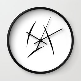 Captain Kirk's Beyond Design Wall Clock