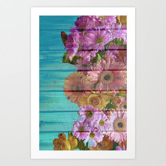 The Ultimate Garden Romance Art Print