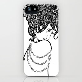 Leila by DAKMPA & MAW iPhone Case