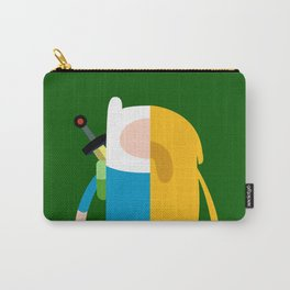 The Human and The Dog Carry-All Pouch