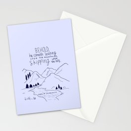 Skipping Stationery Cards