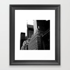 NY Cityscape Framed Art Print