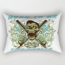 Cage fighter Rectangular Pillow