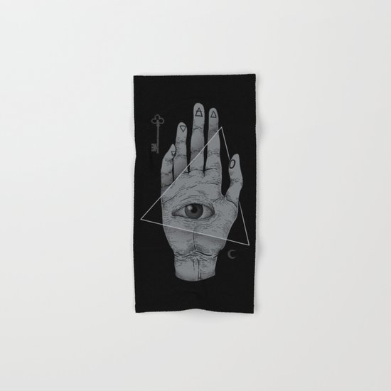 Witch Hand Hand & Bath Towel