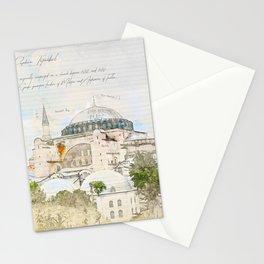 Hagia Sophia, Istanbul Stationery Cards