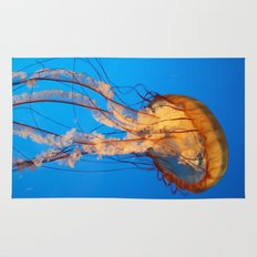 Jellyfish in Color Rug
