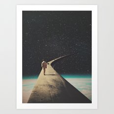 We Chose This Road My Dear Art Print