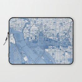 Washington DC Map Laptop Sleeve