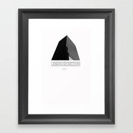 urbane  Framed Art Print