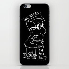Milhouse  iPhone Skin