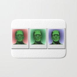Polaroids of Frankenstein's Monster Bath Mat