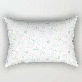 Coffee and Dessert Rectangular Pillow