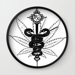 Smoke your meds Wall Clock