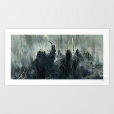 Nazgul  Art Print