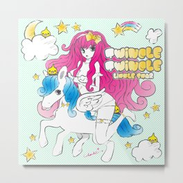TWINCLE,TWINCLE,LITTLE STAR Metal Print