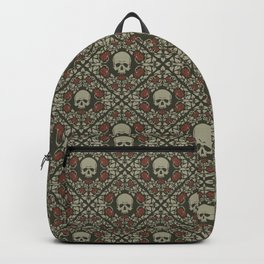 Skulls and roses Backpack