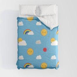 Kawaii Skies Comforters