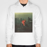 houston Hoodies featuring houston by Jesse Treece