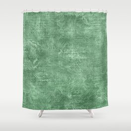 Hemlock Oil Painting Color Accent Shower Curtain
