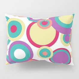 Colorful Circles Pillow Sham