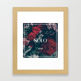 SOLO - Jennie - BLACKPINK Framed Art Print