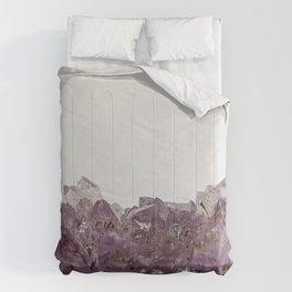 Amethyst cluster Comforters