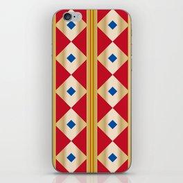 Traditional Japanese patter KUGINUKITSUNAGI iPhone Skin