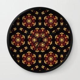 Harvest Pattern Wall Clock