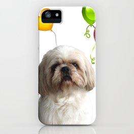 Paul Top Model - Shih tzu dog - Colorful Balloons iPhone Case
