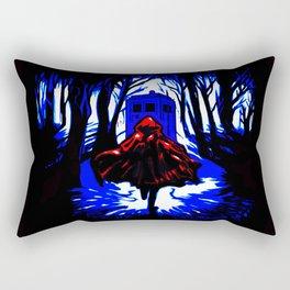 Shadow Light Of Tardis Rectangular Pillow