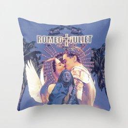 romeo + juliet (1996) poster  Throw Pillow