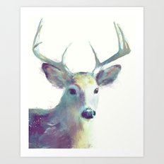 Whitetail No. 2 Art Print