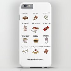 Foods of Parks and Rec Slim Case iPhone 6s Plus
