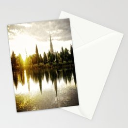 Idaho Falls Temple - Sunrise Stationery Cards