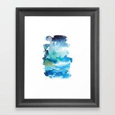 Abstract Landscape 1 Framed Art Print