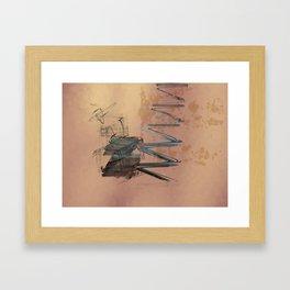Academic Evocation Framed Art Print