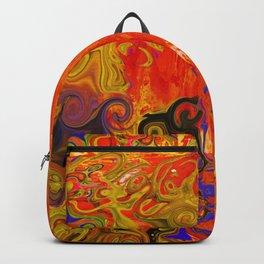 Orange Emotion Backpack