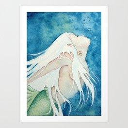 Deep Sea Dance Art Print