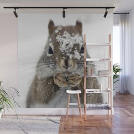 Squirrel! Wall Mural