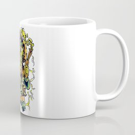 Western Cowboy Skull - Golden Fizz Coffee Mug