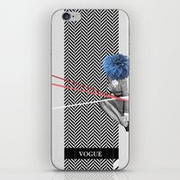 vogue iPhone & iPod Skins featuring Vogue by Frank Moth
